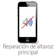 reparacion de altavoz principal de iphone