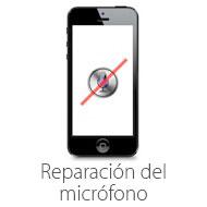 reparacion del microfono de iphone