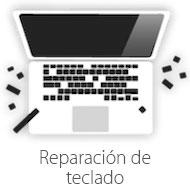 reparacion de teclado de mac