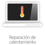 reparacion de calentamiento de mac