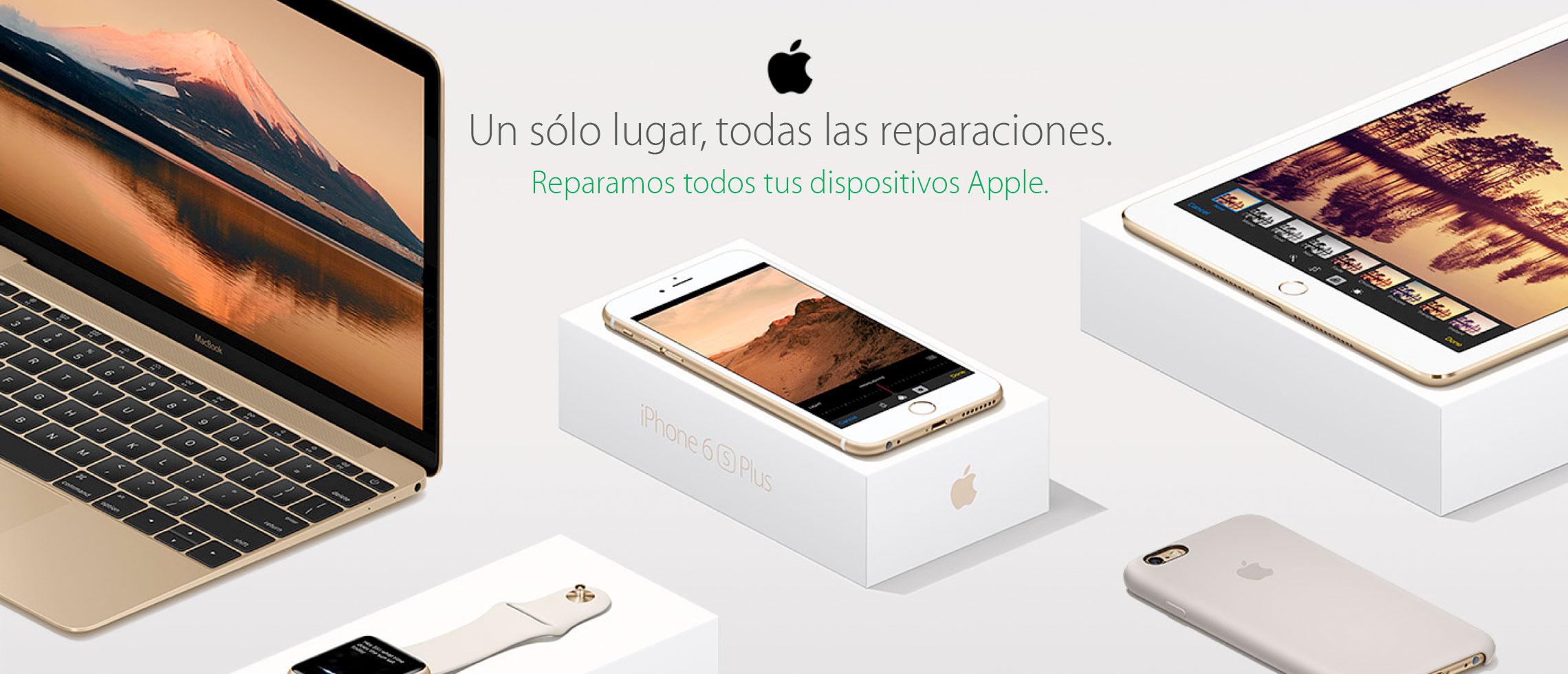 servicios de reparacion para todos los dispositivos apple