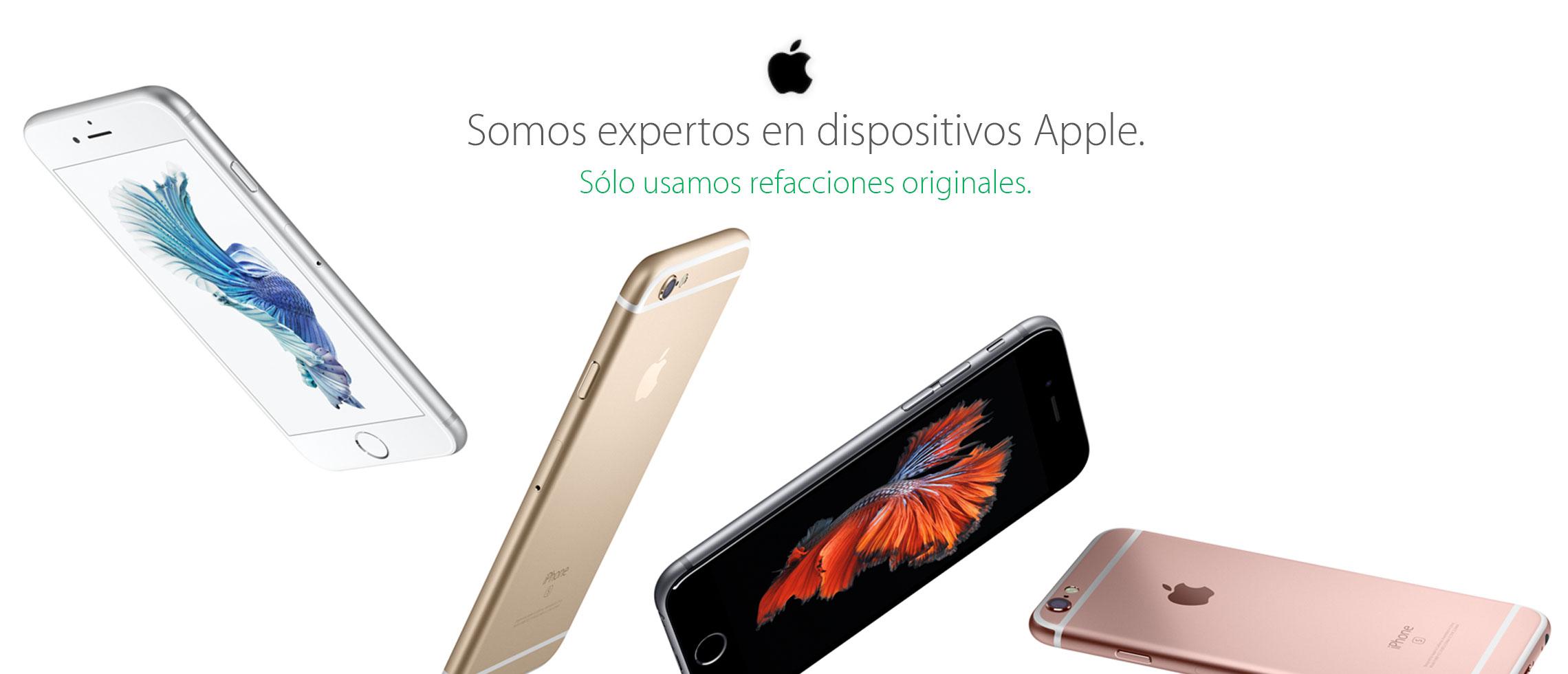 Dispositivos reparados en el servicio de reparacion de apple